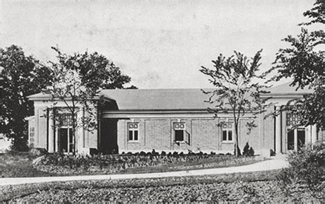 First Lion House in 1917