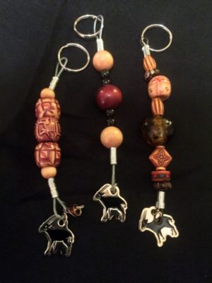 Zoo keychain crafts at Henry Vilas Zoo