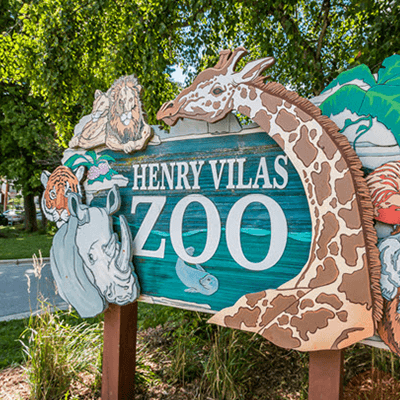 Henry Vilas Zoo sign